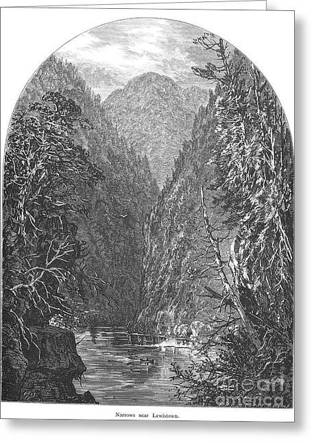 Juniata River Greeting Card by Granger