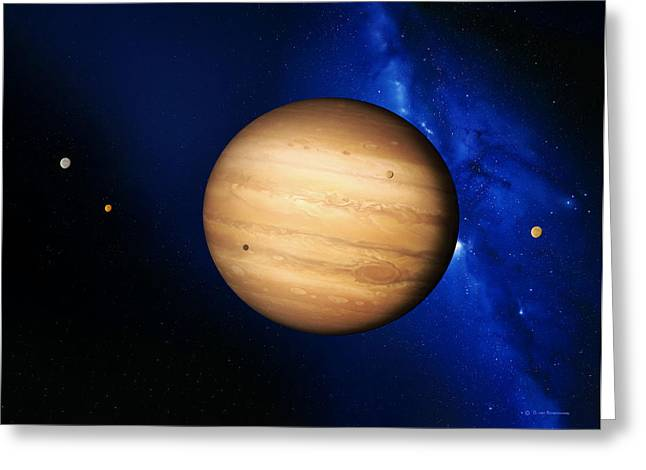 Most Photographs Greeting Cards - Jupiter Greeting Card by Detlev Van Ravenswaay