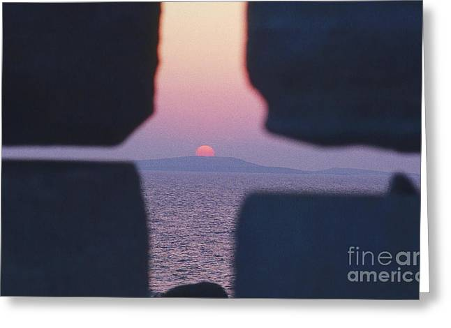 Ambience Greeting Cards - Just A Glace Greeting Card by Heiko Koehrer-Wagner