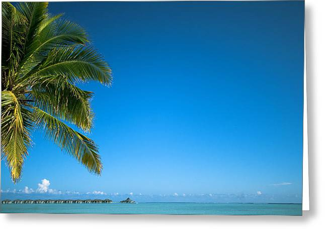Leasure Greeting Cards - Just Another Day in Paradise. Maldives Greeting Card by Jenny Rainbow