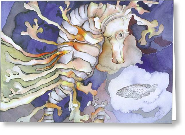 Sealife Greeting Cards - Just dreaming too Greeting Card by Liduine Bekman