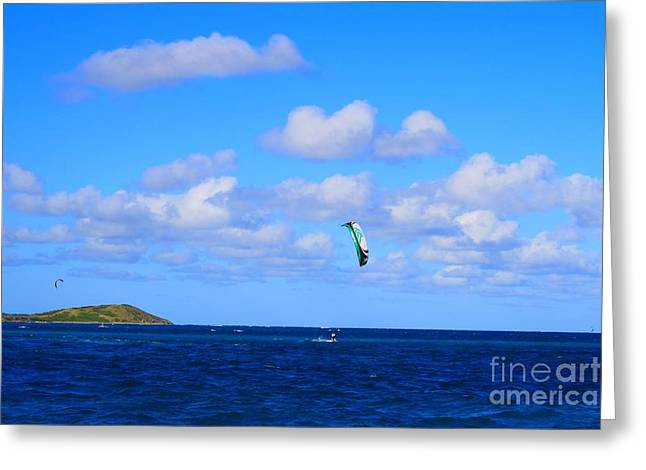 Best Sellers -  - Kite Boarding Greeting Cards - Just Fun Greeting Card by John W Smith III