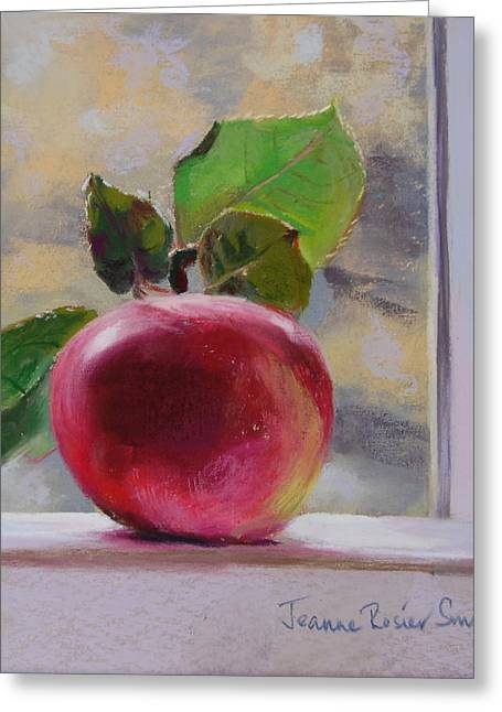 Apple Pastels Greeting Cards - Just Picked Greeting Card by Jeanne Rosier Smith