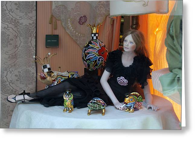 Toy Store Digital Art Greeting Cards - Just relaxing Greeting Card by Donna Lee Blais