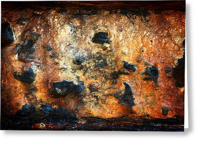 Just Rust Greeting Card by Shane Rees