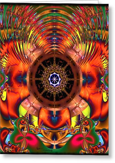 Gina Lee Manley Greeting Cards - Kaleidotrip Greeting Card by Gina Lee Manley