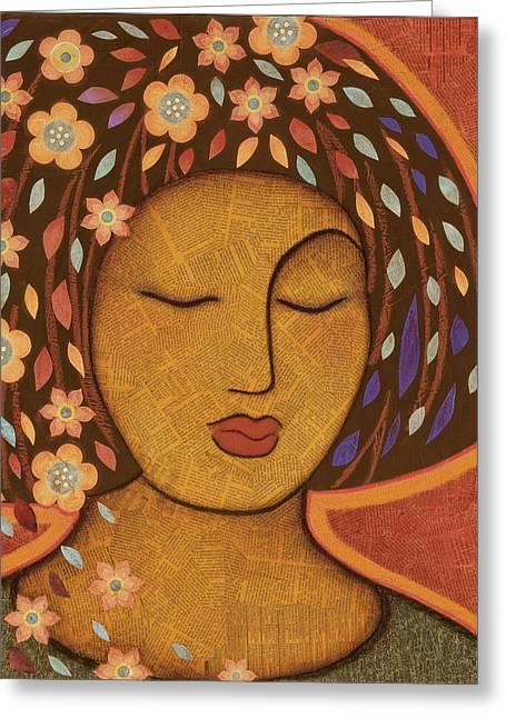 Goddess Kali Greeting Cards - Kali Greeting Card by Gloria Rothrock