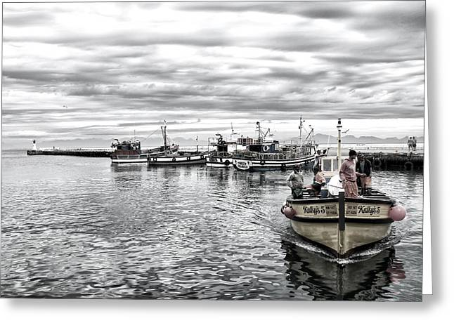 Famous Fish Abstract Greeting Cards - Kalkys 5 HDR Greeting Card by Andrew  Hewett
