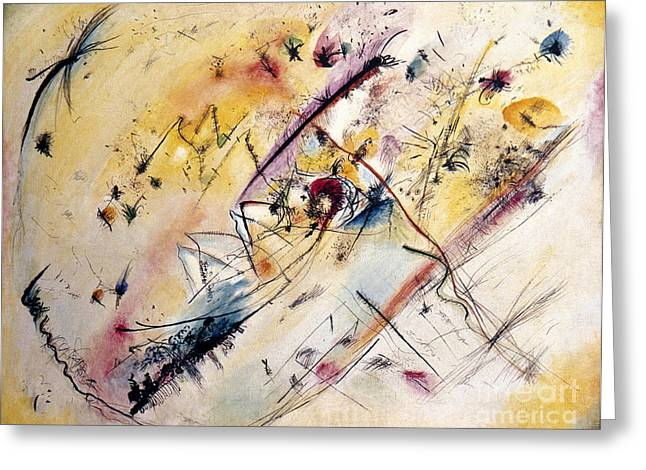 1913 Greeting Cards - Kandinsky: Light, 1913 Greeting Card by Granger