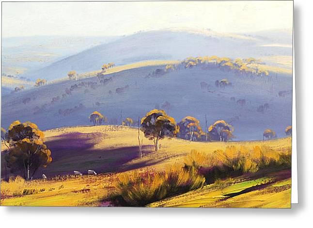 Kanimbla Valley Greeting Card by Graham Gercken