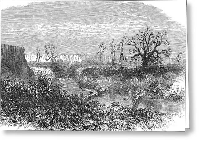 West Fork Greeting Cards - Kansas: Beaver Dam, 1867 Greeting Card by Granger