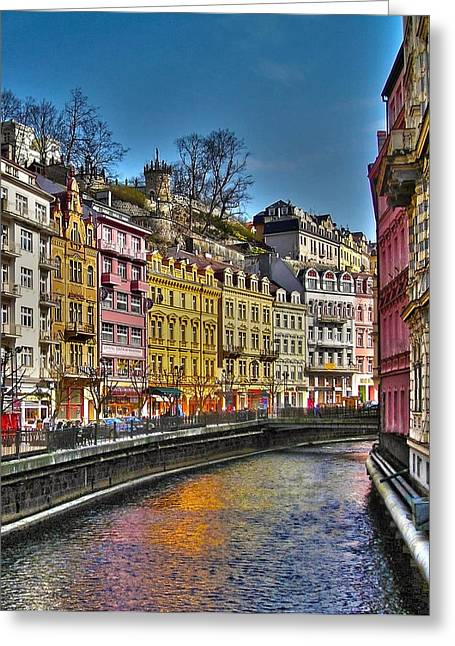 Himmel Greeting Cards - Karlovy Vary - Ceska Republika Greeting Card by Juergen Weiss