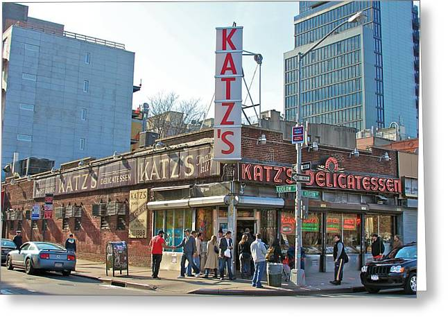 Real People Greeting Cards - Katzs Greeting Card by Jerry Patterson