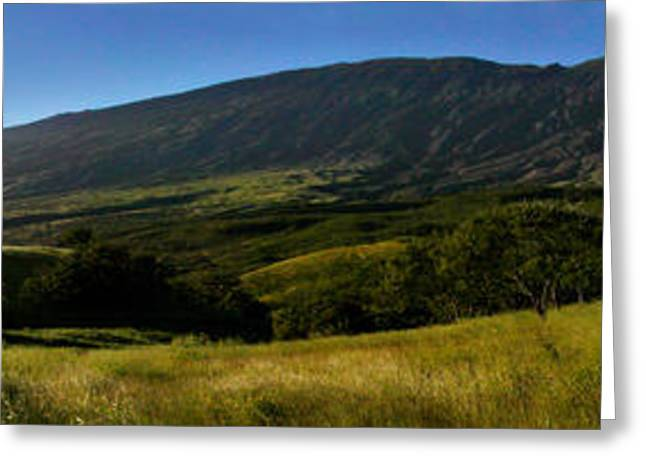 Haleakala Greeting Cards - Kaupo Maui Sunset Greeting Card by Dustin K Ryan