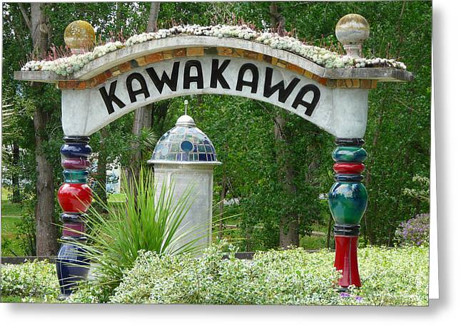Kawakawa Greeting Card by David Rich