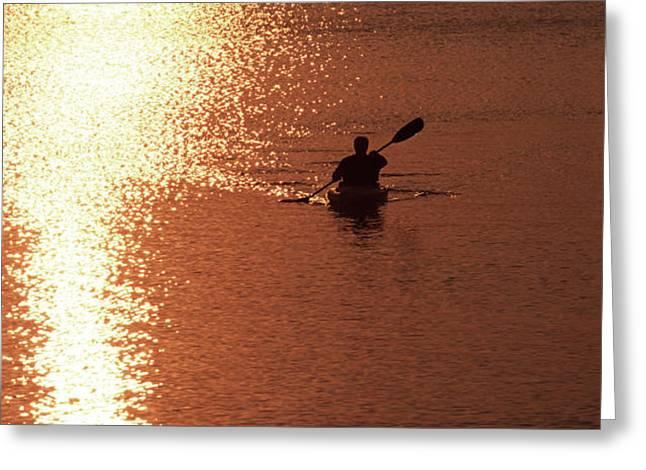 Kayak, South Carolina Greeting Card by Dawn Kish