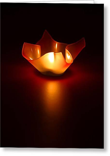 Simplistic Greeting Cards - Keep the Light On Greeting Card by Evelina Kremsdorf