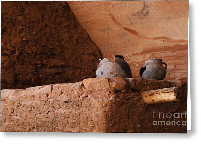 Cliff Dwellers Greeting Cards - Keet Seel 3 Greeting Card by Bob Christopher