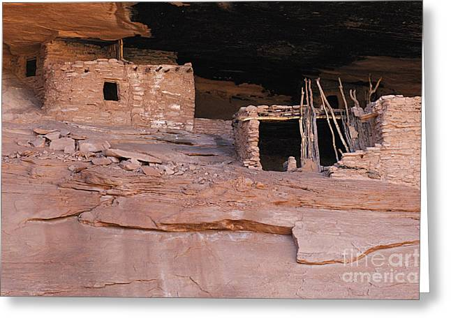 Cliff Dwellers Greeting Cards - Keet Seel Arizona 1 Greeting Card by Bob Christopher