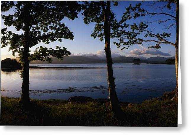 Serene Setting Greeting Cards - Kenmare Bay, Ring Of Kerry In Bg, Co Greeting Card by The Irish Image Collection