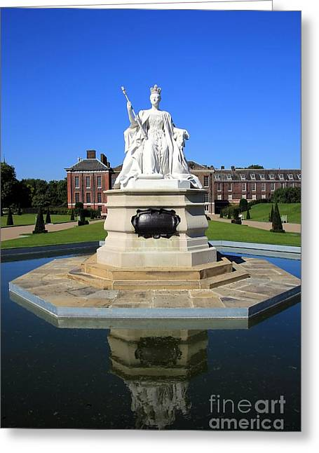 Kensington Greeting Cards - Kensington Palace Grounds Greeting Card by Sophie Vigneault