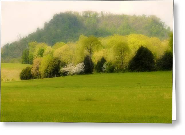 Lyle Huisken Greeting Cards - Kentucky Springtime Greeting Card by Lyle  Huisken