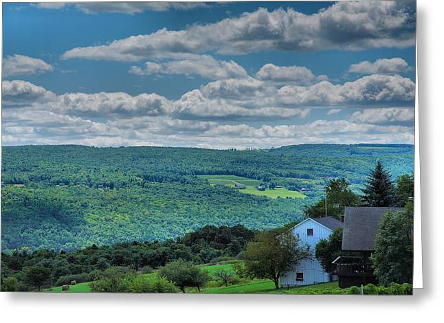 Keuka Lake Greeting Cards - Keuka Landscape II Greeting Card by Steven Ainsworth