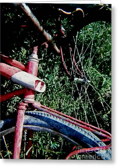 Photographers Doraville Greeting Cards - Key West Bikes Greeting Card by Corky Willis Atlanta Photography
