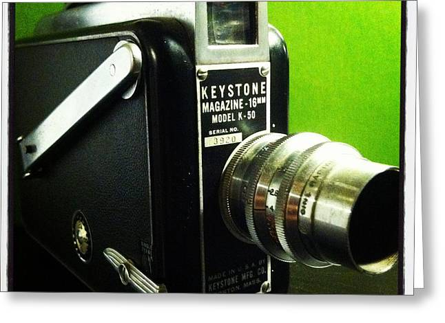 Recently Sold -  - Aperture Greeting Cards - Keystone K50 Greeting Card by Gabe Arroyo