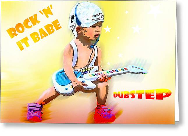 Dubstep Greeting Cards - Kid Rock Greeting Card by Tbone Oliver