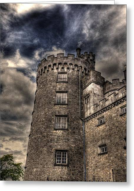 Barry R Jones Jr Digital Art Greeting Cards - Kilkenny Castle Greeting Card by Barry R Jones Jr