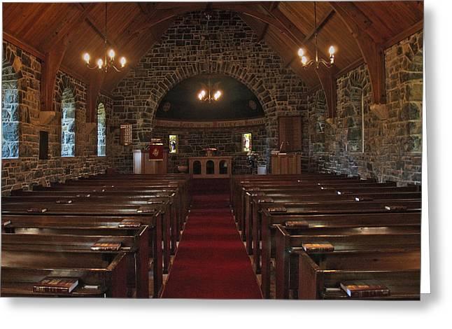 Kilmore Church Dervaig Greeting Card by Steve Watson