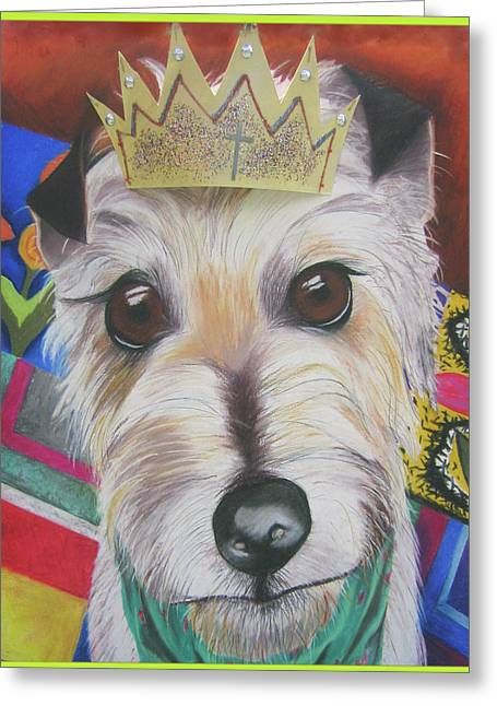 Gift For Pastels Greeting Cards - King Louie Greeting Card by Michelle Hayden-Marsan