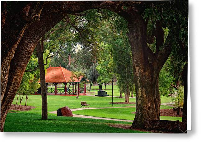 View Pyrography Greeting Cards - Kings Park Perth WA Greeting Card by Imagevixen Photography