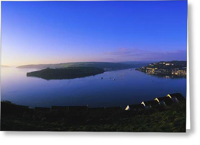 Ocean Panorama Greeting Cards - Kinsale, Co Cork, Ireland Sunrise In Greeting Card by The Irish Image Collection