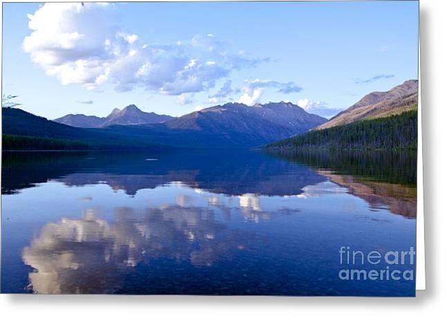 Kintla Lake Greeting Cards - Kintla Lake not HDR Greeting Card by Scotts Scapes