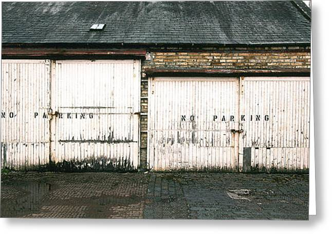 Sign Writing Greeting Cards - Kirkcudbright Alley Greeting Card by Jan Faul