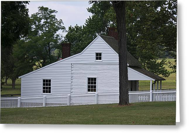 Slave Quarters Photographs Greeting Cards - Kitchen and Slave Quarters Appomattox Virginia Greeting Card by Teresa Mucha