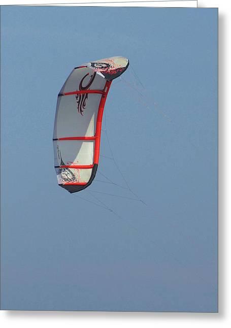 Kite Surfing Greeting Cards - Kite Surfing 19 Greeting Card by Joyce StJames