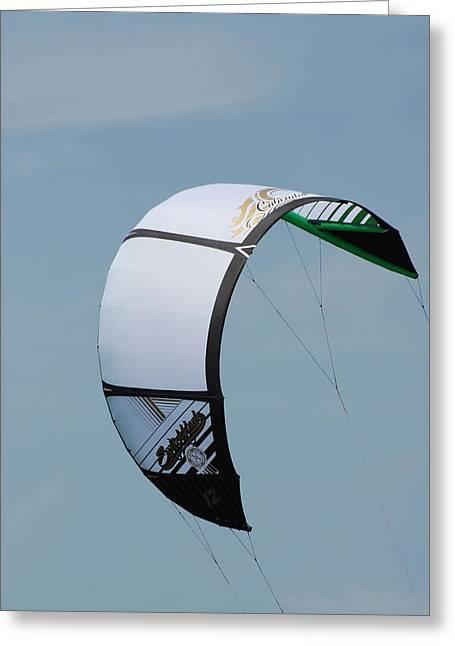 Kite Surfing Greeting Cards - Kite Surfing 33 Greeting Card by Joyce StJames