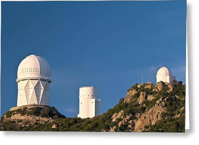Stewards Greeting Cards - Kitt Peak National Observatory Greeting Card by David Nunuk