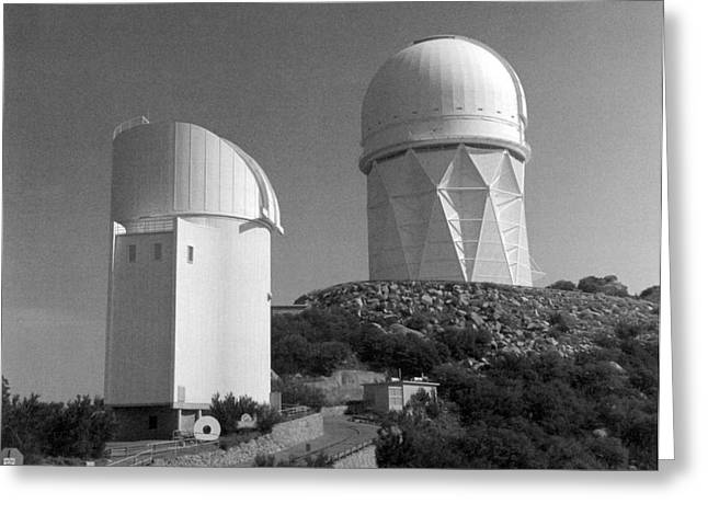Quinlan Greeting Cards - Kitt Peak National Observatory Kpno Greeting Card by Science Source