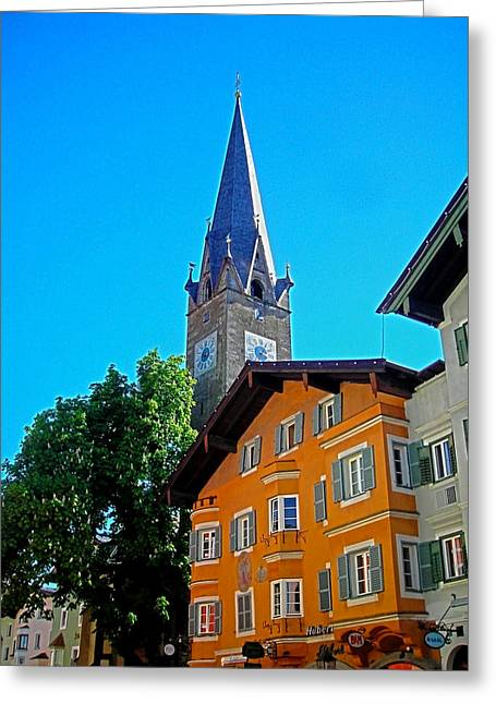 Spiegelung Greeting Cards - Kitzbuehel - Austria Greeting Card by Juergen Weiss