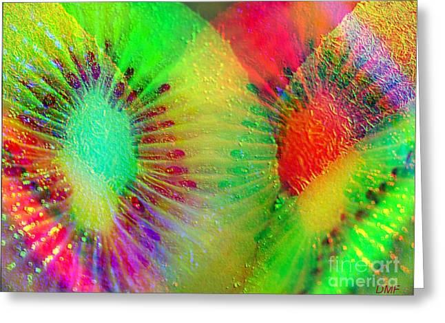 Kiwi Art Digital Art Greeting Cards - Kiwi Greeting Card by Dragica  Micki Fortuna