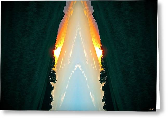 Element Of Earth Greeting Cards - Klidanature Art Fire Greeting Card by Debra     Vatalaro