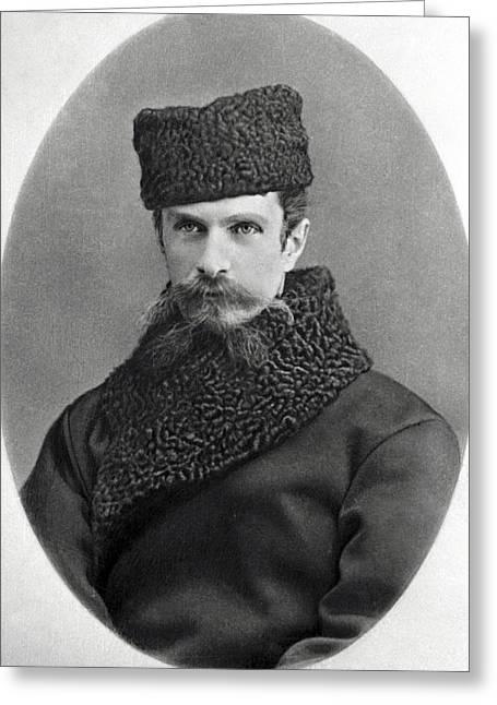 Kliment Timiryazev, Russian Botanist Greeting Card by Ria Novosti
