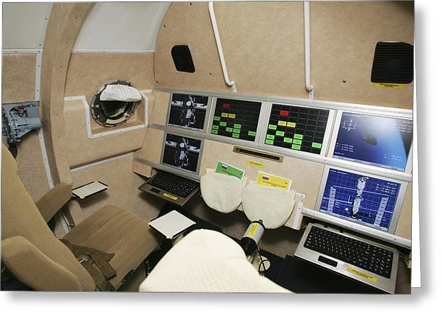 Spaceplane Greeting Cards - Kliper Spacecraft Interior Greeting Card by Ria Novosti