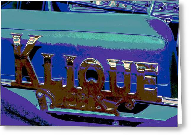 Tricked-out Cars Greeting Cards - KLIQUE Car Club-Phoenix Greeting Card by Chuck Re