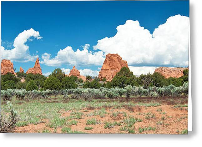 Southern Utah Greeting Cards - Kodachrome Basin State Park Greeting Card by Bob and Nancy Kendrick