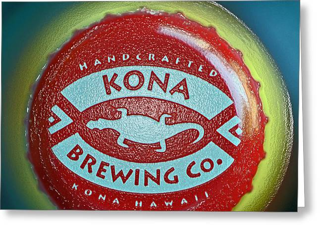 Kona Brewing Greeting Cards - Kona Brewing Company Greeting Card by Bill Owen